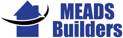Meads Builders, Honiton, logo.